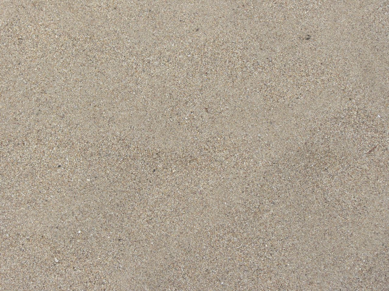 Recent floods left a fresh coverage of fine granitic sand.